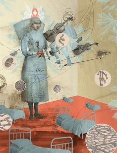 Faith is Torment | Art and Design Blog: Mixed Media by Lars Henkel