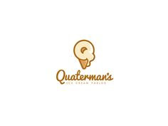 Help Quarterman's Ice Cream Parlor with a new logo Logo design #3 by JacobParr