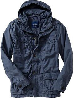 Men's Lightweight Military-Style Jackets | Old Navy