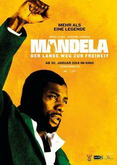 MANDELA – DER LANGE WEG ZUR FREIHEIT: Bildgewaltig, mit einem wirklich sehr guten Hauptdarsteller (Idris Elba) und einer großartigen Naomie Harris als Winnie, aber so ganz konnte der Film mich nicht überzeugen. Vom südafrikanischen Regisseur Justin Chadwick dann wohl doch etwas zu konventionell und oberflächlich inszeniert. Der Film versteift sich zu sehr auf die äußere Biografie Mandelas, was diesen Mann so einzigartig gemacht hat, lässt der Film leider nicht erkennen.