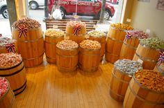 candy store display | The Cupcake Suite