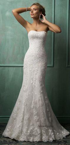 Amelia Sposa 2014 Wedding Dresses   bellethemagazine.com