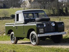 "LAND ROVER SERIE 2A 88"" PICKUP"