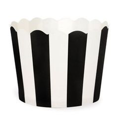 Paper Eskimo Navy and White Stripe Baking Cups Cupcake In A Cup, Cupcake Cases, Cupcake Toppers, Black White Stripes, Navy And White, Pink And Gold, Black Tie, Navy Blue, Black White Parties