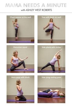 A short yoga sequence for soon to be moms focused on grounding and relaxing pren. - A short yoga sequence for soon to be moms focused on grounding and relaxing prenatal yoga poses wit - Pregnancy Yoga Poses, Prenatal Yoga Poses, Prenatal Workout, Pregnancy Workout, Fit Pregnancy, Early Pregnancy, Yoga Postnatal, Fitness Motivation, Fitness Tracker