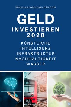 Investment tips 2020 – these are the megatrends - Finanzen Savings Challenge, Money Saving Challenge, Saving Money, Investment Tips, Investment Property, Investing Money, Real Estate Investing, Best Investments, Money Tips