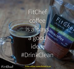 FitChef Filter Coffee - 80g UltraCoffee sachet.
