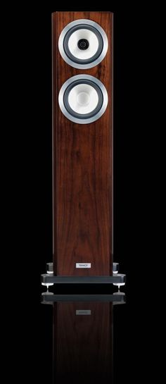 Tannoy Precision 6.2 Floorstander Loudspeaker Have a look at the beautiful Tannoy Precision 6.2 Floorstander Loudspeake, with the satin dark walnut finish. Tannoy Precision is a new upper level loudspeaker range that combines audiophile detail and delicacy with remarkable musical dynamics. Visually the Precision line boasts contemporary cabinets with cutting edge fit, finish, and features. Audio Emotion Limited's photos Audiophile Speakers, Hifi Audio, Stereo Speakers, High End Speakers, High End Audio, Class D Amplifier, Rockford Fosgate, Audio Sound, Speaker Design
