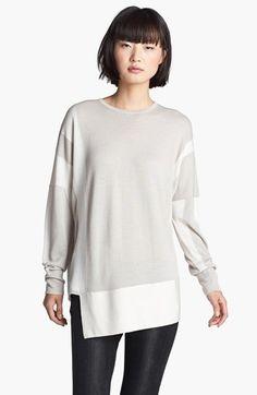 Helmut Lang Paneled Sweater