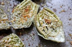 roasted baby artichokes with a garlic lemon aioli - what's cooking good looking? - a {super} healthy, natural, tasty food and recipe journal