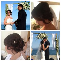 Bridal updo #wedlocks #updo #bride #lindsaymilsteadhairstylist #wedding