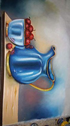 Art Lessons, Painted Rocks, Still Life, Diy And Crafts, Stencils, Alice, Doodles, Vase, Wallpaper
