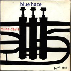 This is an alternate artwork created for the Blue Haze record, reissued on Esquire records in 1960. Artist : Harry Peck