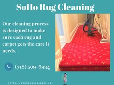Carpets are the most essential parts of our home. It makes our home more cherished and stylish. So, it requires extra care to clean. We at soho rug cleaning is one of the leading as well as professional carpet cleaning service provider in NYC at reasonable prices.