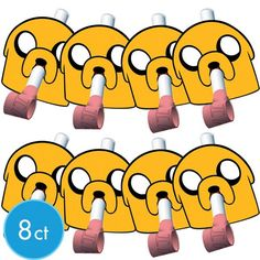 Adventure Time Blowouts 8ct