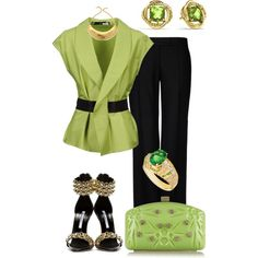 """""""05/06/14"""" by marisol-menahem on Polyvore  **With a black skirt and those shoes**"""