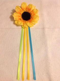 Un favorito personal de mi tienda Etsy https://www.etsy.com/listing/233633923/diy-frozen-fever-anna-inspired-sunflower