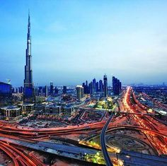 Travel to #Dubai for sky-high hotels, delicious restaurants, and modern shops.