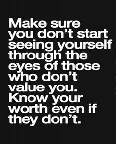 Know Your Worth - Inspirational Quote | Full Dose