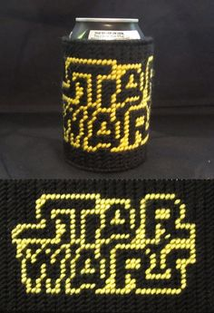 Star Wars Soda Cozy Made From Plastic Canvas by Robert made pattern