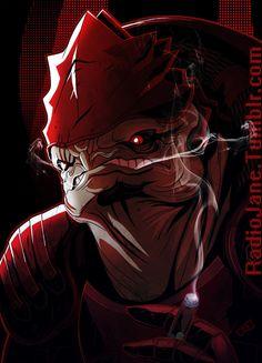 Mass Effect,фэндомы,ME art,Wrex
