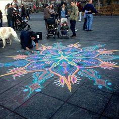 Mandala gigante