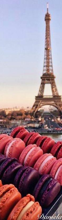 Paris for the dessert. #Delicious #Yum #Paris #Romance