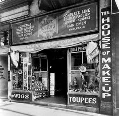 1920 - Max Factor's shop in Hill Street