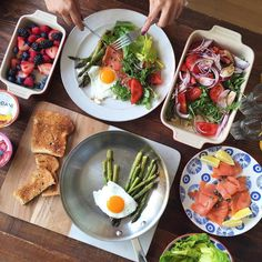 Homemade Sunday brunch game  by ediblemoments