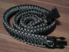 Tutorial Rope Survival Belt.....two ropes of contrasting colors