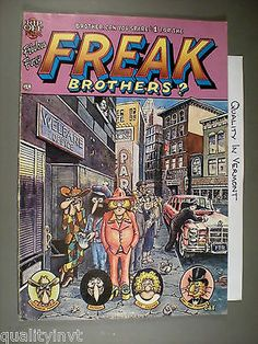 Fabulous Furry Freak Brothers 4 1975 Rip Off Press $1.00 A Mexican Odyssey Bros Gilbert Shelton, Underground Comics, Robert Crumb, Genesis 2, Rock Art, Brother, Comic Books, Cartoon, Image Search