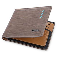 men short wallets leathe vintage credit card photo holder male bifold clutch wallet