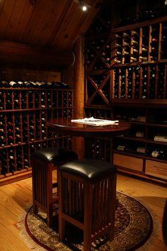 ♂ Wine Cellar brown wood
