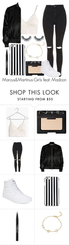 """""""Marcus & Martinus-Girls feat. Madcon"""" by elinajuslin ❤ liked on Polyvore featuring Madewell, NARS Cosmetics, Topshop, Givenchy, Vans, MICHAEL Michael Kors, Trish McEvoy and Sugar NY"""
