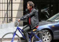 Lou Reed Taking A Bike Ride