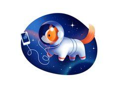 Cuberto's site illustration (WIP) / Cuberto