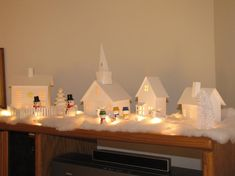 Paper Crafts: Christmas Village
