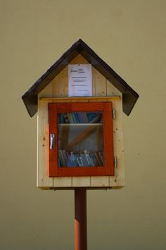 - Little free library Libraries Chrášťany, Czech Republic . Little Free Libraries, Little Library, Free Library, Dot Org, Library Website, Community Building, Czech Republic, Public Libraries, Book