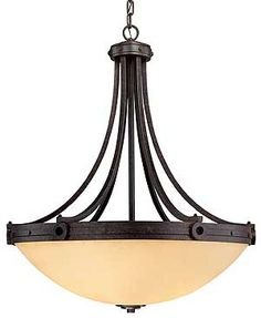"""Hathaway 27"""" Bowl Pendant / Chandelier 