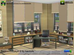 Bedroom Tokyo 2 by kardofe at TSR • Sims 4 Updates