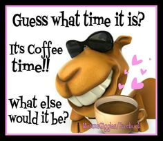 Guess what time it is? It's coffee time! Coffee Talk, Coffee Break, Morning Coffee, Coffee Quotes, Coffee Humor, Painted Coffee Mugs, Espresso Coffee, Coffee Coffee, Witches Brew