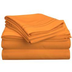 4-Piece 800 Thread Count Egyptian Cotton Sheet Set & Reviews   Joss & Main