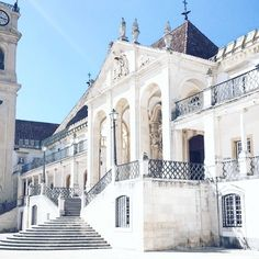 Insta: ♔BethanyEmW♔ Pinterest: ♡BethanyEmma92♡  How beautiful is the University of Coimbra in Portugal?! The library even has resident bats to protect the books haha 🦇 . . . . . .  #travel #explore #lifestyle #picoftheday  #Portugal #coimbra #travelling #wanderlust #adventure #inspo #coimbrauni #beautiful #architecture