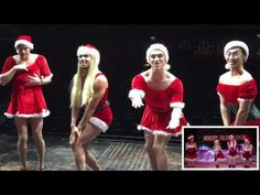 Some of our cast performing a tribute to Mean Girls! Zuma Dance, Miss Saigon, Christmas Chalkboard, Mean Girls, Jingle Bells, Happy Holidays, Rock, Dresses, Youtube