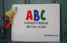 Printable ABC Scripture Cards- these could be great for the younger VBS kids!