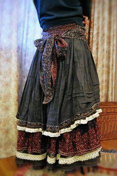 Ein Prairie / Folk Rock Look. Boho Outfits, Pretty Outfits, Beautiful Outfits, Vintage Outfits, Vintage Fashion, Fashion Outfits, Look Boho, Bohemian Style, Estilo Folk