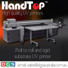 Print directly to substrates with #Handtop LED UV curing #largeformatprinter  www.dgsaustralia.com.au sales@dgsaustralia.com.au  Handtop #UVprinter quick start up with little to no maintenance before #printing.   Amazing high quality prints using #Ricoh print heads.   Powered by @onyx_graphics. For beautiful accurate colour  reproduction with depth and vibrancy.  www.dgsaustralia.com.au sales@dgsaustralia.com.au