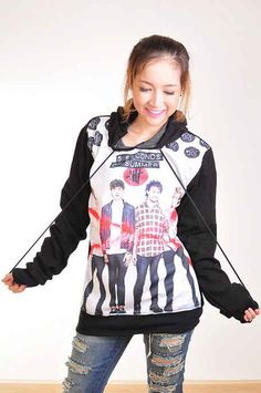 """""""Punk Rock Hoodie"""" 