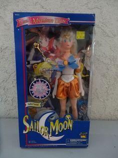 Sailor Moon 11.5 Sailor Venus Mina MIB Irwin 1997 Bonus Extra Outfit #Irwin #DollswithClothingAccessories