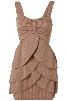 3 Button Dress by WAL G,  £32.00, Topshop